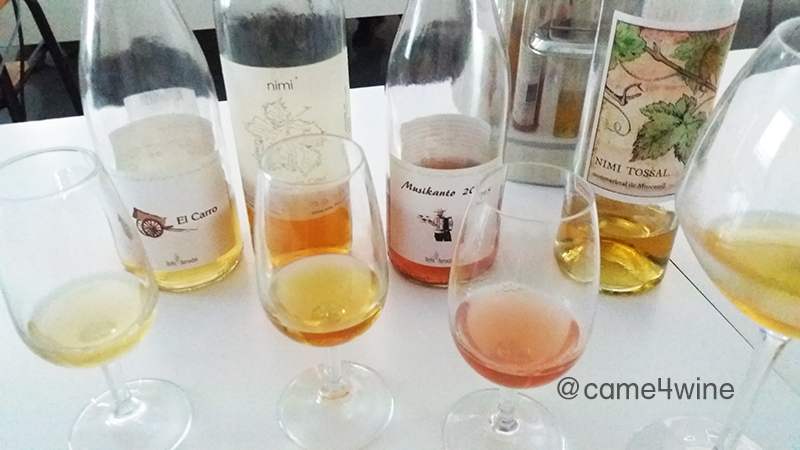 The first 4 wines tasted from Alicante